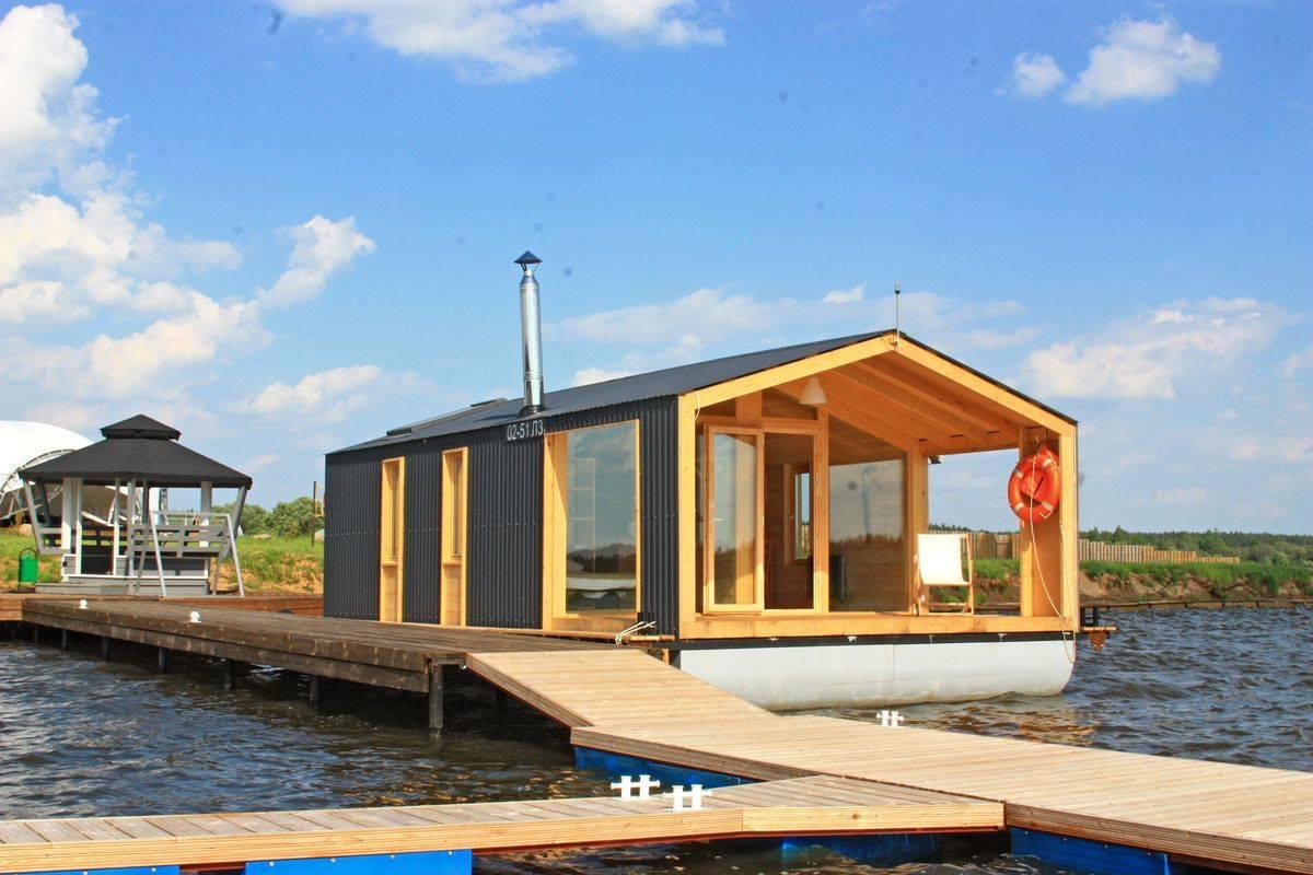 Строим дом на воде своими руками